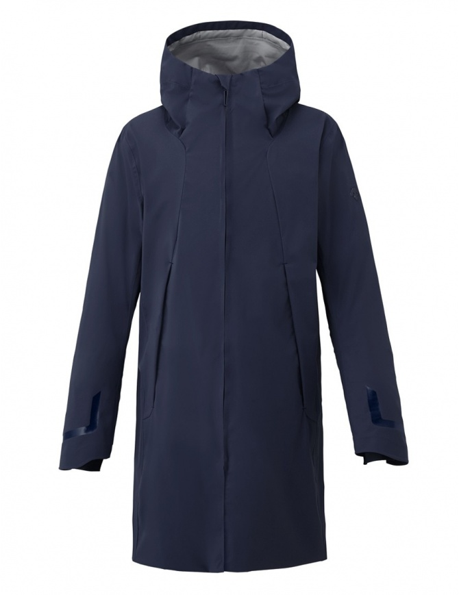 Cappotto Allterrain by Descente Streamline Boa Shell colore blu DIA3703U-GRNV cappotti uomo online shopping