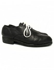 Guidi 112 black leather shoes