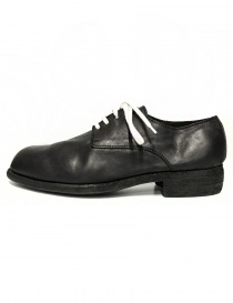 Guidi 112 black leather shoes buy online