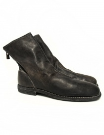 Womens shoes online: Guidi 986MS dark brown leather ankle boots