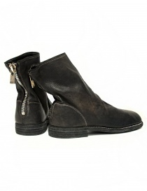 Guidi 986MS dark brown leather ankle boots price