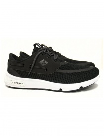 Sperry Top-Sider 7 Seas black sneakers STS15524 BLACK
