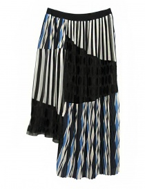 Kolor asymmetric skirt price