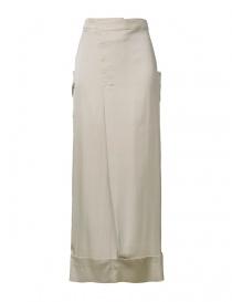 Womens skirts online: Rito khaki nude mid skirt
