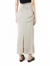 Rito khaki nude mid skirt price