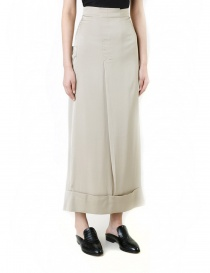 Rito khaki nude mid skirt womens skirts buy online