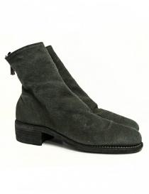 Guidi 796 Linen ankle boots 796-LINEN-BOOTS-BLKT