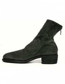 Guidi 796 Linen ankle boots
