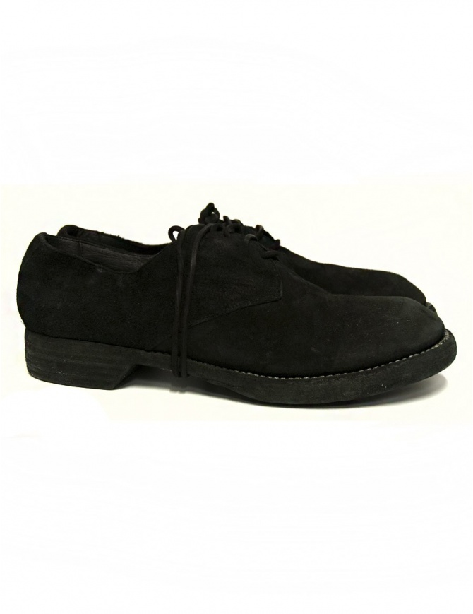 Guidi 5302N black leather shoes