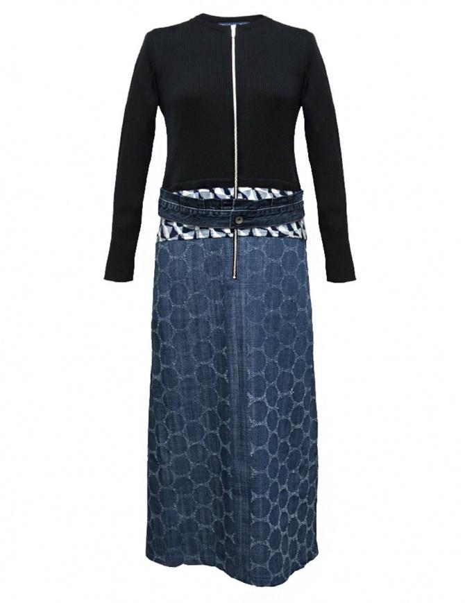 Hiromi Tsuyoshi patchwork denim dress