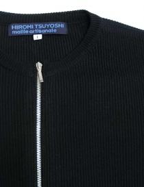 Abito Hiromi Tsuyoshi in denim e maglia blu abiti donna acquista online