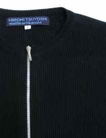 Hiromi Tsuyoshi blue denim and knit dress womens dresses buy online