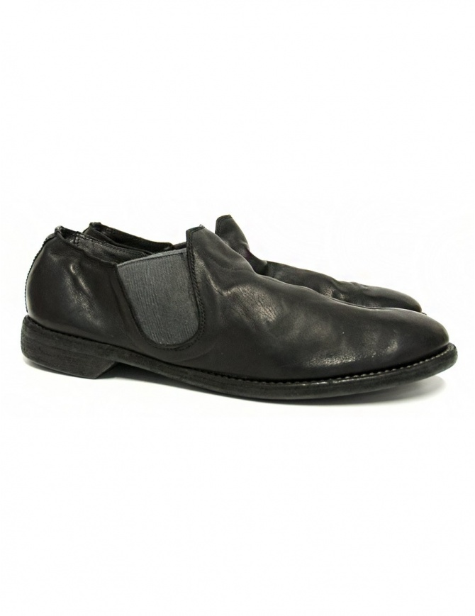 Guidi 109 black kangaroo leather shoes 109 KANGAROO FG BLKT