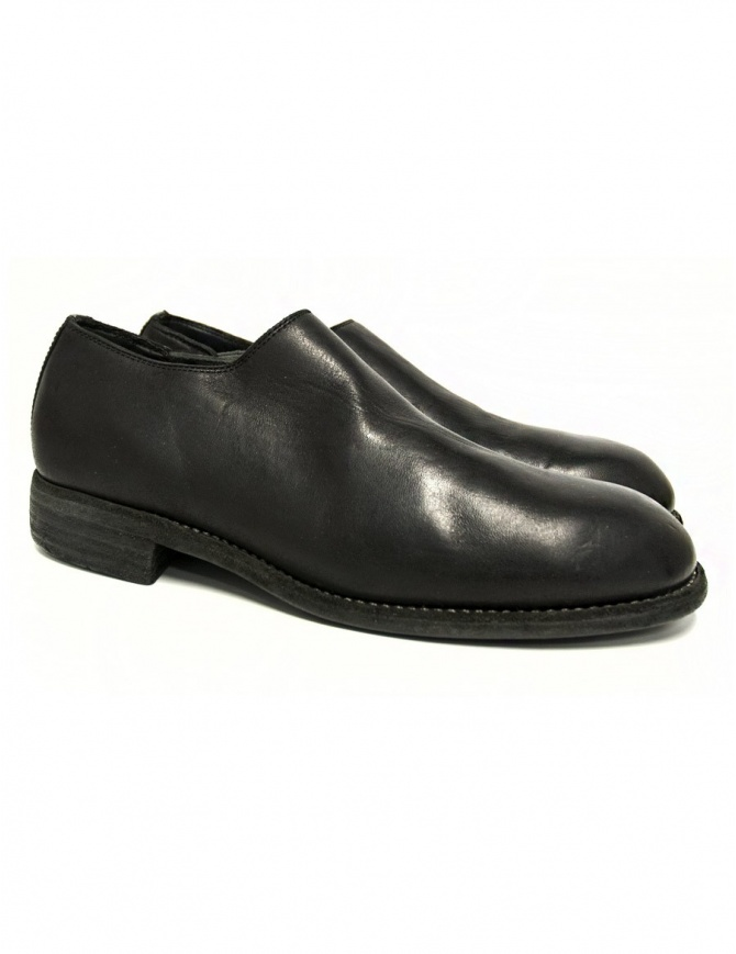 Guidi 990E black leather shoes