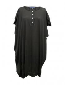 Womens dresses online: Hiromi Tsuyoshi dark grey dress