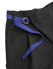 Kolor navy trousers with belt buy online