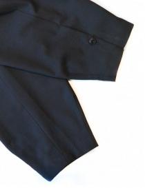 Pantalone Kolor colore navy con cinturino prezzo