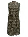 Abito Kolor fantasia marrone crema verde acquista online 17SCL 001136 DRESS A