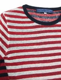 Hiromi Tsuyoshi stripes pullover price