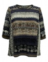M.&Kyoko mixed silk pullover buy online KAGH501W-PULLOVER