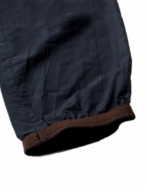 Kolor navy trousers with brown details price