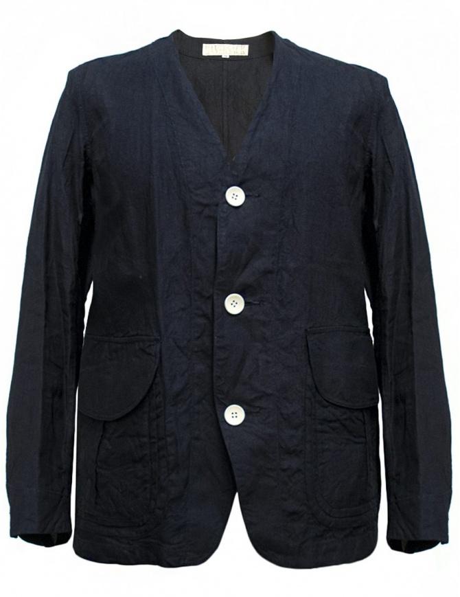 Haversack linen navy jacket