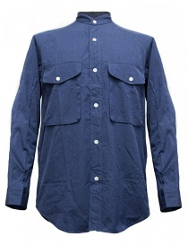 Mens shirts online: Haversack blue shirt