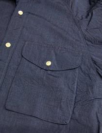 Camicia Haversack colore blu prezzo