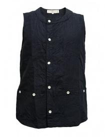 Haversack linen navy vest