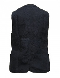 Gilet in lino Haversack colore navy acquista online