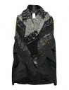 M.&Kyoko mixed silk and paper vest buy online KAGH559W-VEST
