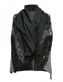 M.&Kyoko mixed silk and paper vest womens vests buy online