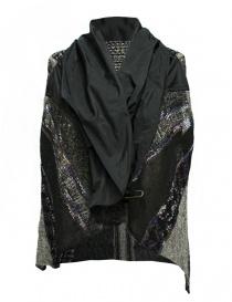 M.&Kyoko mixed silk and paper vest womens vests buy online