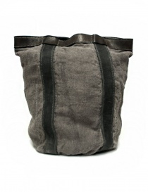 Guidi NBP01 leather and linen backpack NBP01-LINEN-CV37T