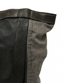 Guidi NBP01 leather and linen backpack bags buy online