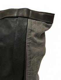 Zaino Guidi NBP01 in pelle e lino borse acquista online