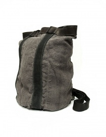 Guidi NBP01 leather and linen backpack bags price