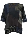 M.&Kyoko mixed silk and paper pullover buy online KAGH550W-PULLOVER