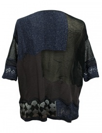 M.&Kyoko mixed silk and paper pullover buy online
