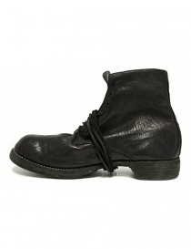 Guidi 5305N black leather ankle boots buy online