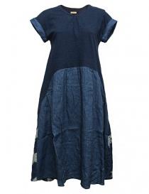 Kapital indigo dress EK528-DRESS-IDG