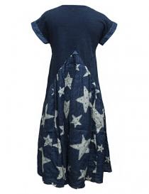 Kapital indigo star print dress buy online