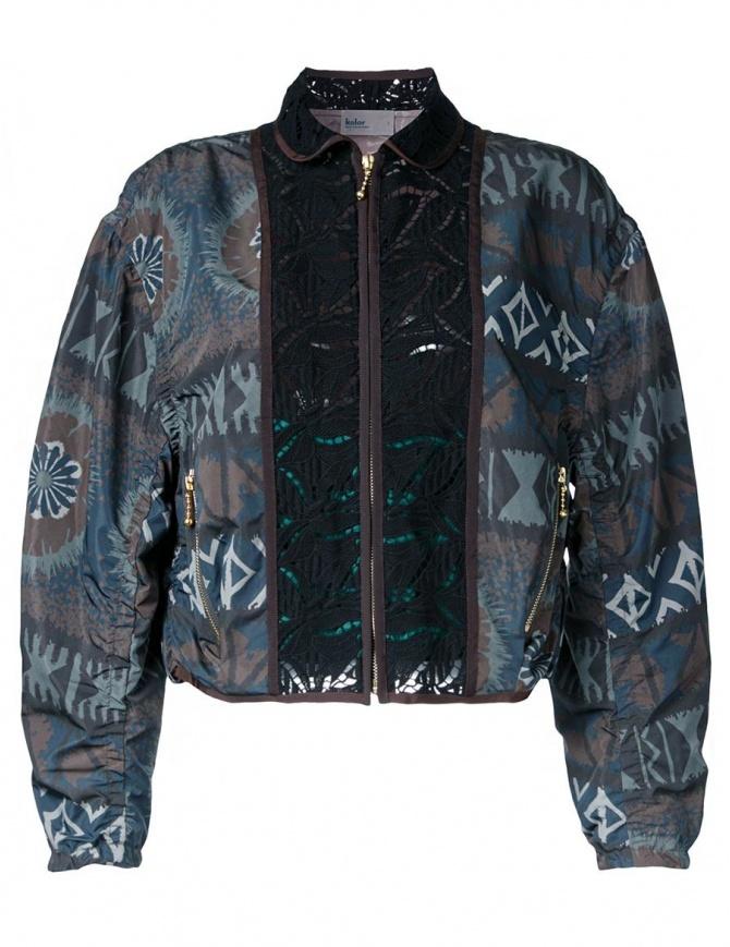 Kolor printed bomber jacket