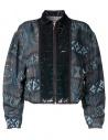 Kolor printed bomber jacket buy online 17SPLG01106 GIACCA NAVY
