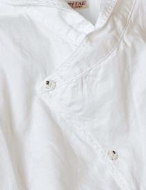 Camicia asimmetrica Kapital colore bianco prezzo