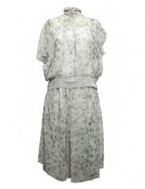 Abito Kolor midi a fiori bianchi 17SCL 003139 DRESS