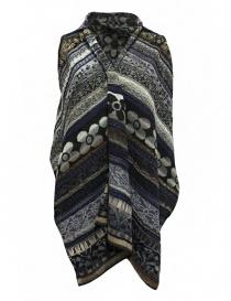 Womens vests online: M.&Kyoko mixed silk vest