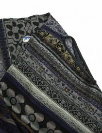 M.&Kyoko mixed silk vest buy online