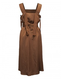 Rito brown sleeveless dress
