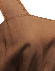 Abito senza maniche Rito colore marrone abiti donna acquista online